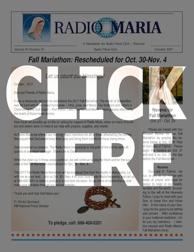 Catholic Radio - Radio Maria - Radio Maria News